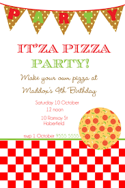 pizza party invitations com pizza party invitations some touches on your invitatios card to make it carry out bewitching invitation templates printable 5