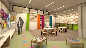 Modern Interior Kids Classroom School Design With Minimalist Wooden  Furniture Classroom Design Idea And Colorful Wall Decorating Kids Classroom  Design
