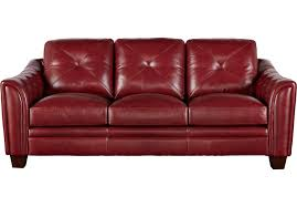 red leather furniture. Wonderful Leather Roll Over To Zoom On Red Leather Furniture