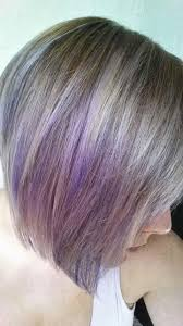 My New Hair With Lavender Tips
