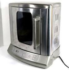 cuisinart cvr 1000 vertical countertop rotisserie stainless steel touchpad contr