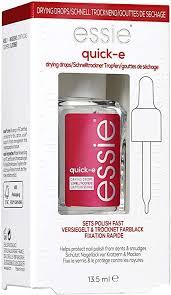 <b>essie</b> Nail Polish Nail Care <b>Quick</b>-<b>e Drying Drops</b> Fast <b>Drying</b> Quick ...