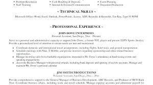 Sample Bartending Resume – Eukutak