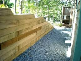 average cost to build a retaining wall wood retaining wall cost railroad tie retaining wall how