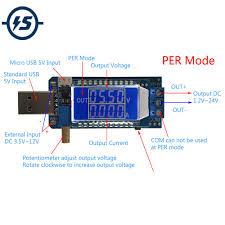 Boost Buck Converter DC <b>DC 5V to 3.3V</b>/ <b>9V</b>/12V USB Step UP ...