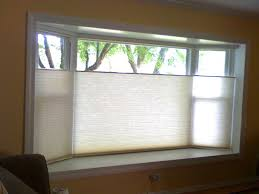 Window Blinds For Bay Windows  Window Seat Curtains  Bay Window Bay Window Blind Ideas