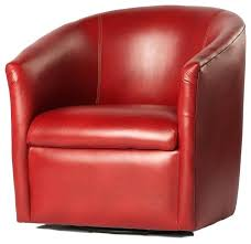 contemporary swivel chairs dr swivel chair contemporary armchairs and accent chairs regarding amazing property red leather
