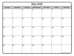 calendar for the month of may may 2018 calendar 51 calendar templates of 2018 calendars
