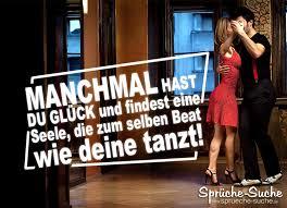 Glück Und Liebe Tanzen Zusammen Schöne Spruchbilder Sprüche Suche
