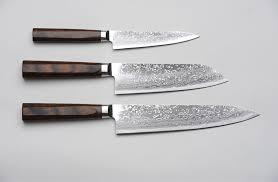 r4 damascus 3 piece set paring knife santoku knife and chef s knife