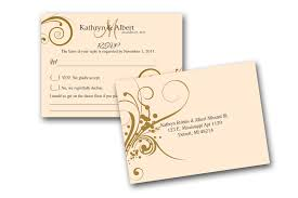 Invitations Attractive Wedding Rsvp Cards Inspirations