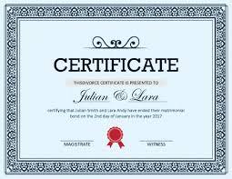 Prank Divorce Papers Fascinating Fake Certificates Hloom