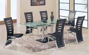 Italian Glass Dining Table Rectangular Glass Dining Table Kings Brand Furniture Rectangle