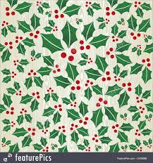 Christmas Pattern Background Fascinating Christmas Wooden Mistletoe Shape Pattern
