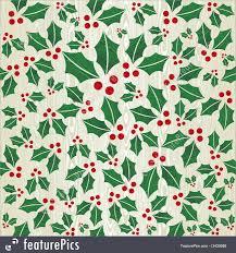Christmas Pattern Background Fascinating Christmas Wooden Mistletoe Shape Pattern