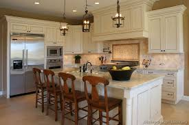 Kitchen Pictures Of Kitchens With White Cabinets And Dark Floors