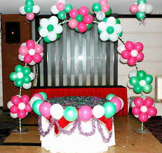 balloon decoration ideas for 1st birthday party at home high