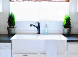 White Apron Kitchen Sink Farmhouse Kitchen Sink With Apron Most Popular Home Design