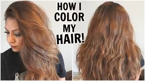 Natural Instincts Light Golden Red How I Dye My Hair Light Golden Brown At Home How I Color My Hair From Dark To Light Diy Root Touchup
