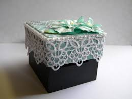 Decorated Money Box Floral Money Box The Handmade Card Blog 7