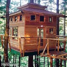 Free Woodworking Plans for Building a Tree HouseFree Tree House Building Tips at The Family Handyman