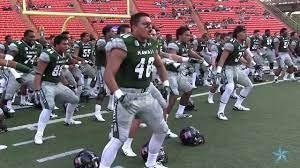 Hawaii football team haka - YouTube