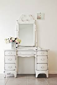 how to antique white furniture. Distressed White Vintage Vanity Interiors Pinterest How To Antique Furniture