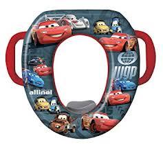 Amazon Com Disney Cars Soft Potty Seat Black Red Discontinued