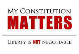 MY CONSTITUTION MATTERS LIBERTY IS NOT NEGOTIABLE! | Meme on ME.ME