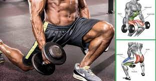 top 5 dumbbell exercises for a leg