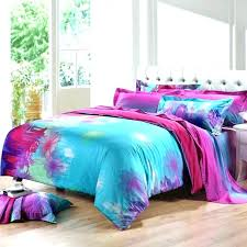 purple and green comforter pink blue teal sets sky hot a