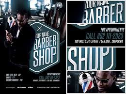 barber flyer barbers shop flyer template flyerheroes