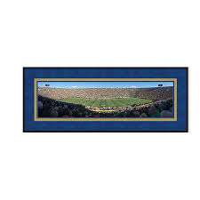 sports stadium photo framing