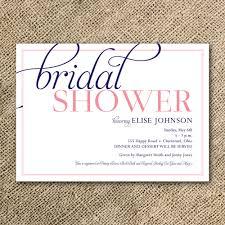 Best Bridal Shower Invitations Dhavalthakur Com