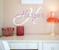 personalized name wall art decals nursery decal girls best name wall decor