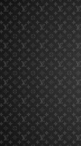Iphone 7 Louis Vuitton Black Wallpaper