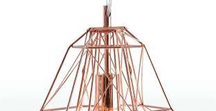 hammered copper pendant light shade metallic nook n o