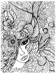 face vegetation zen and anti stress coloring pages for s just color