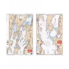 Chart 14782 Waterproof Chart Northern Lake Champlain
