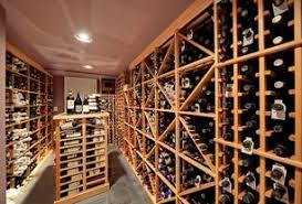 1 tag Contemporary Wine Cellar with slate tile floors, High ceiling