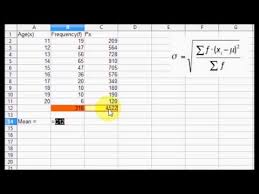 how to find the standard deviation in minitab