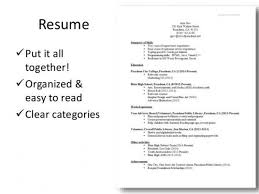 Things To Put On A Resume Delectable What To Put In A Resume Tommybanks