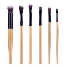 1 of 7 6pcs professional eyeshadow eyebrow blending brush set eye makeup brushes uk