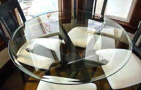 42 round glass dining table within inch top iron wood modern plans 17