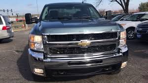 2010 Blue/Grey Chevy Silverado 2500 17332 - YouTube