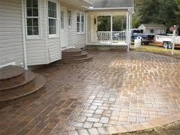 stamped concrete patio ideas 22 best images on
