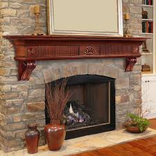 classic traditional fireplace mantel view larger