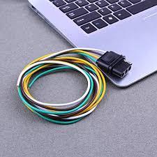 amazon com flat loop wiring connector awakingdemi 36in trailer flat loop wiring connector awakingdemi 36in trailer light wiring harness extension cable cord 4pin