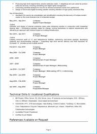 Cover Letter Project Manager Cv Example Cv Template And Writing