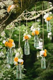 on outdoor tree decorations for weddings